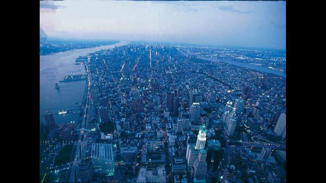 Die Skyline von New York soll in zwei Jahren Formel-1-Action erleben