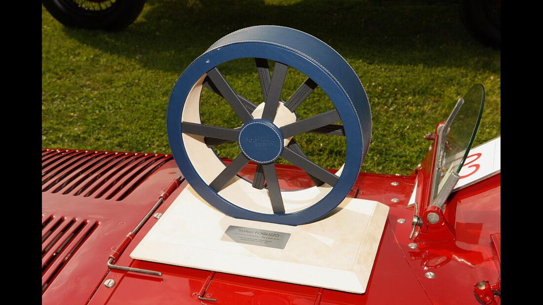 Die Trofeo Foglizzo (Spezial Preis der Jury) ging an den Talbot-Darracq Rennwagen.