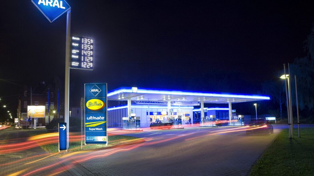 Die Zahl der Tankstellen in Deutschland nahm 2013 ab.
