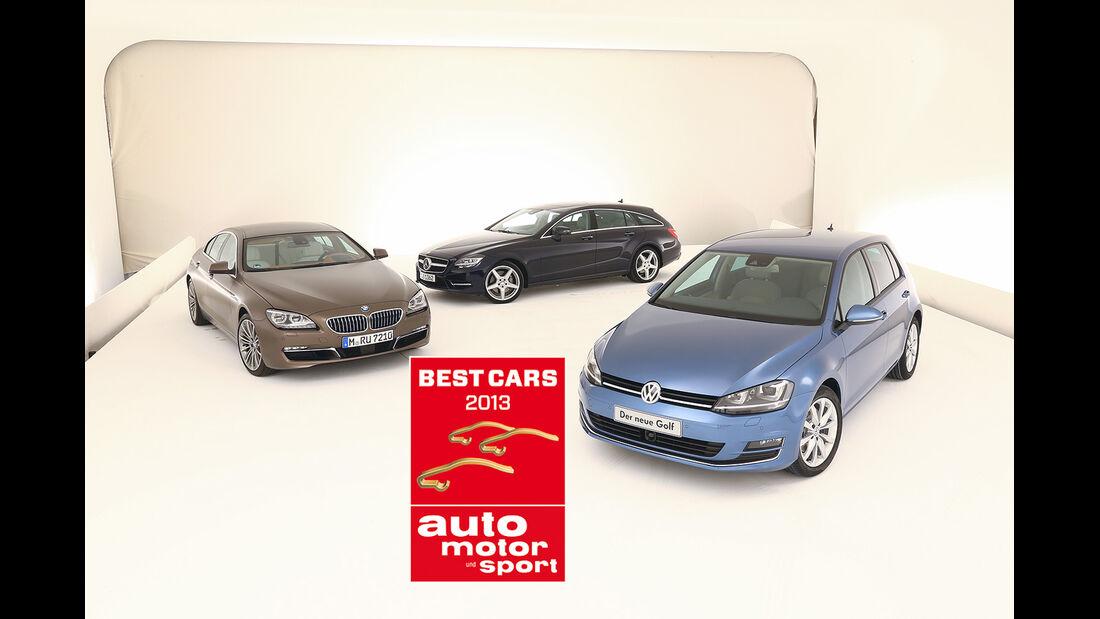 Die besten Autos 2013 - Gewinnerautos