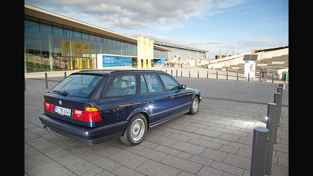 Die besten Youngtimer BMW 540i E34 Touring