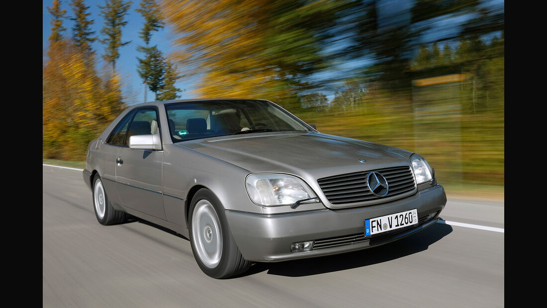 Die besten Youngtimer Mercedes-Benz S600 Coupé