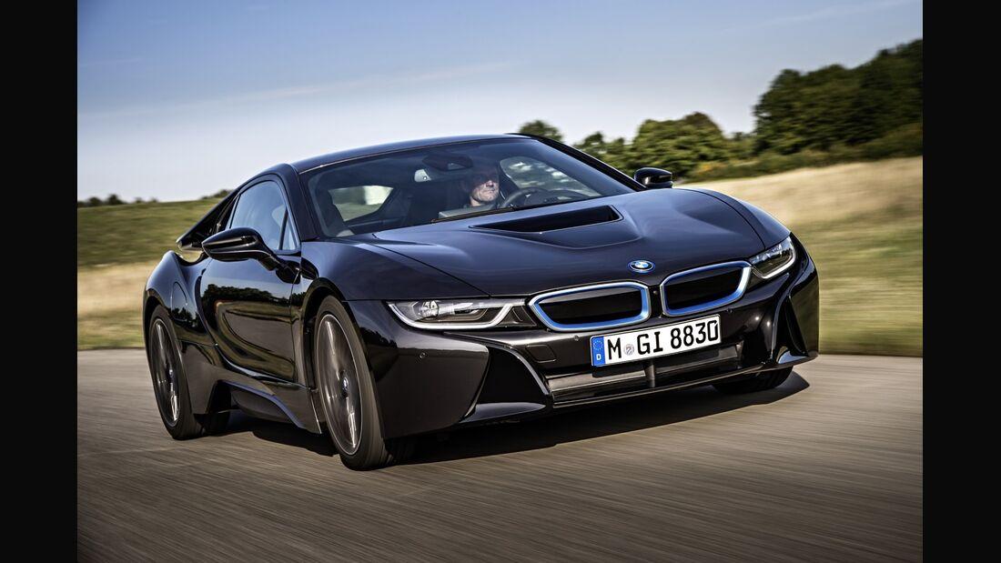 Die i8-Kampagne brachte der Marke BMW einer Studie zufolge einen Imagegewinn.