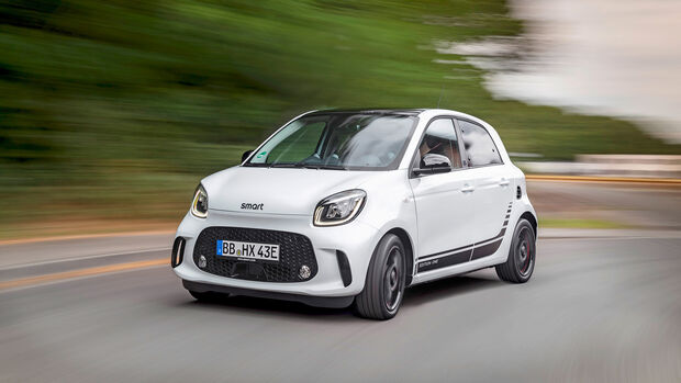 Die neue Generation: smart EQ forfour