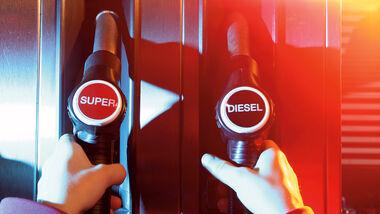 Diese gegen Benziner im Vergleich