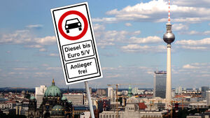Diesel Fahrverbot Euro 5 Berlin Schild