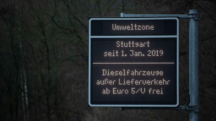 Diesel fahrverbot stuttgart zone