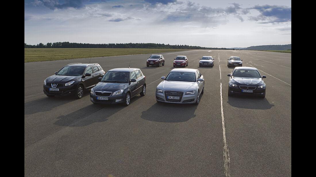 Diesel gegen Benziner, Vergleichstest