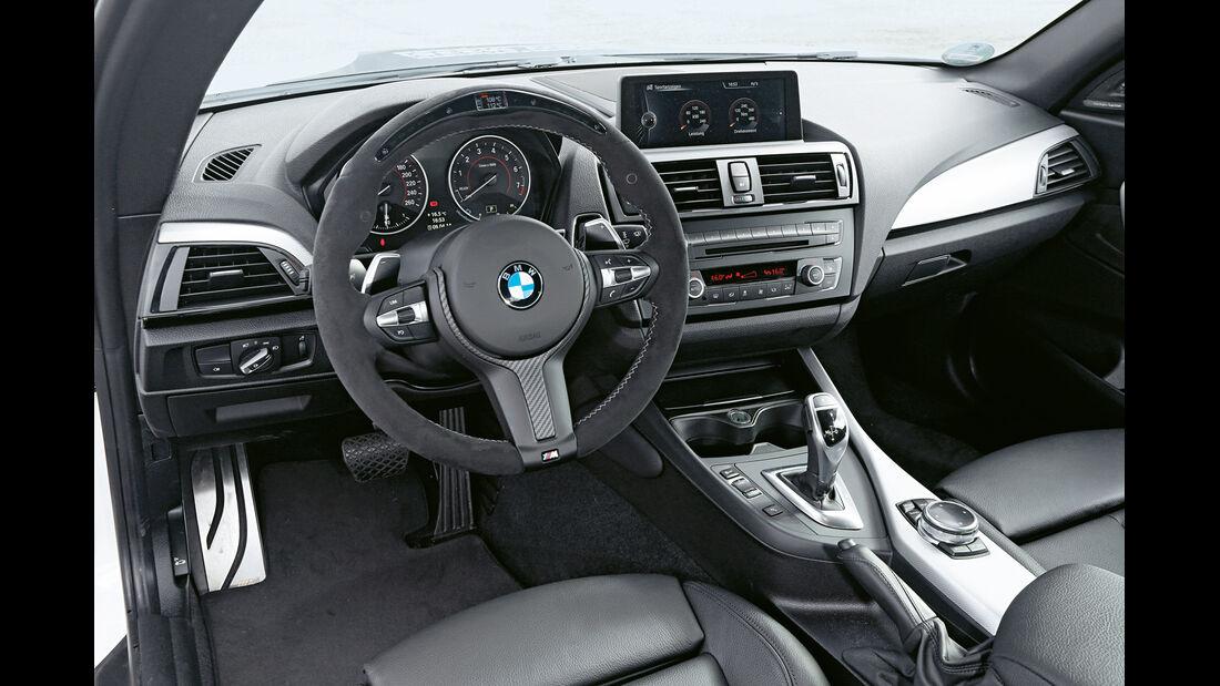 Dieselspeed-BMW M235i, Cockpit