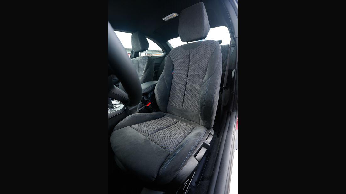 Dieselspeed-BMW M235i, Fahrersitz