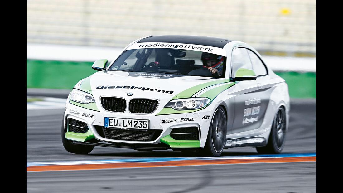 Dieselspeed-BMW M235i, Frontansicht