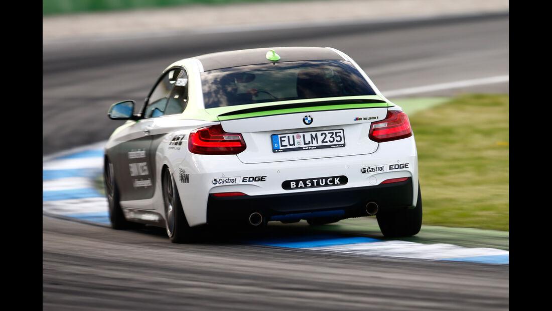 Dieselspeed-BMW M235i, Heckansicht