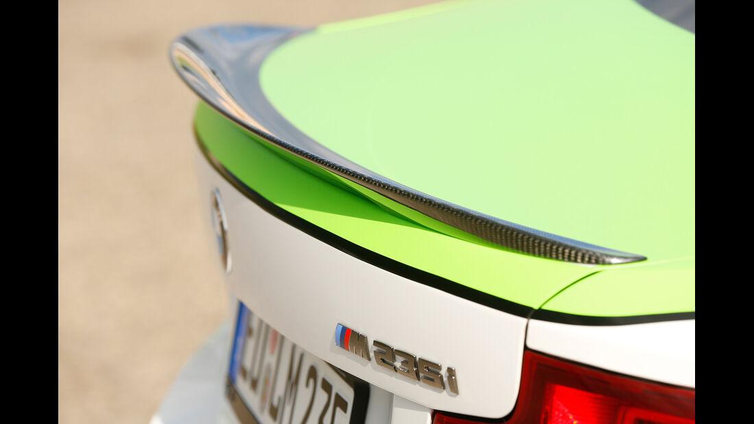 Dieselspeed-BMW M235i, Heckspoiler