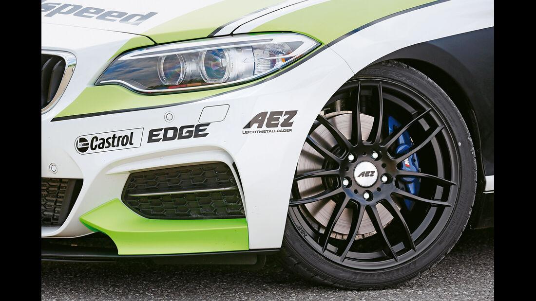 Dieselspeed-BMW M235i, Rad, Felge, Bremse