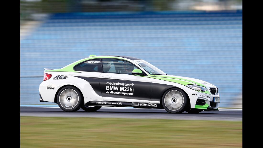 Dieselspeed-BMW M235i, Seitenansicht