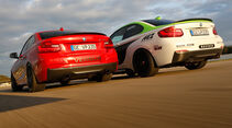 Dieselspeed-BMW M235i, Versus-BMW M235i, Heckansicht