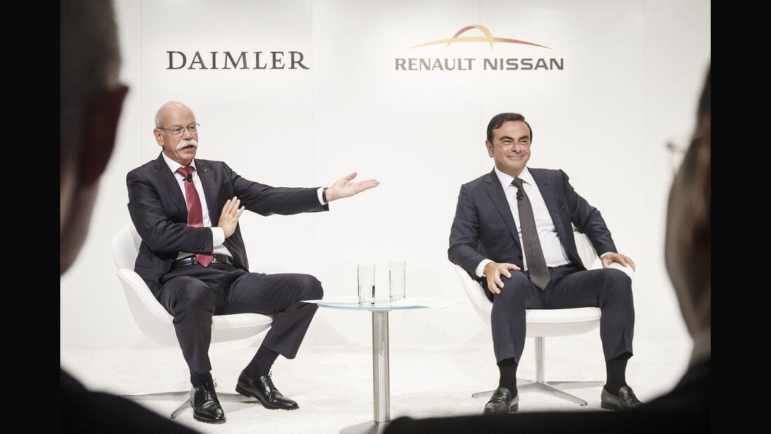 Dieter Zetsche Carlos Ghosn