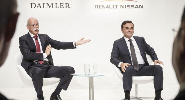 Dieter Zetsche Carlos Ghosn