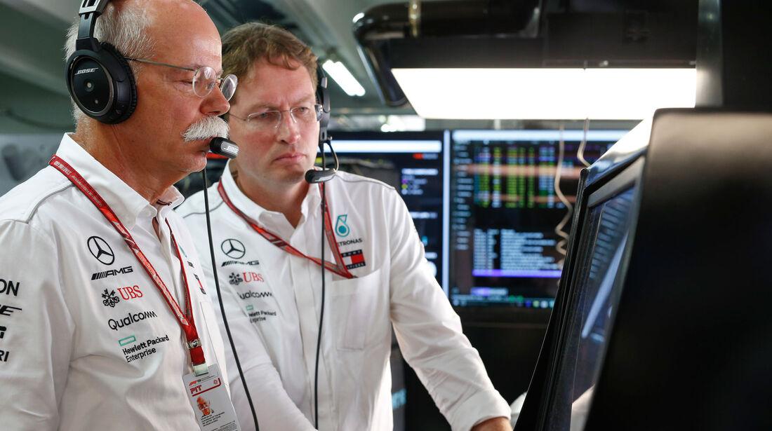 Dieter Zetsche - Mercedes - GP Deutschland 2018 - Rennen