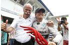 Dieter Zetsche & Nico Rosberg - GP Deutschland 2014