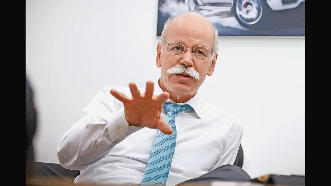 Dieter Zetsche, Porträt