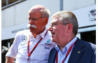 Dieter Zetsche & Thomas Bach - GP Monaco - Formel 1 - 28. Mai 2016