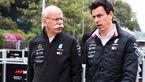 Dieter Zetsche - Toto Wolff - Mercedes - GP China 2019 - Shanghai