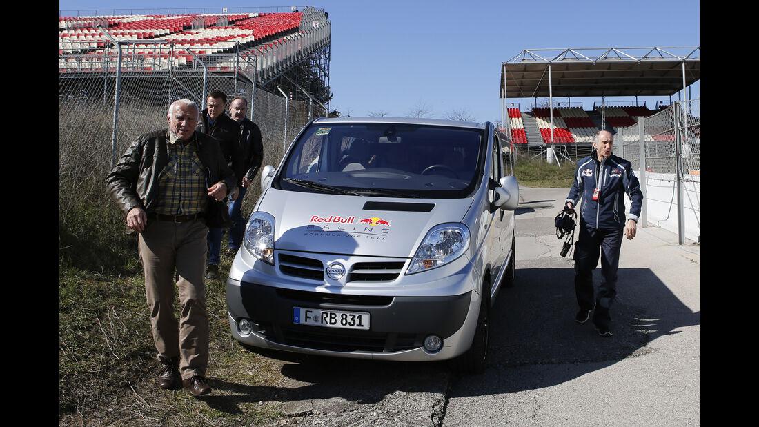 Dietrich Mateschitz - Red Bull - Formel 1-Test - Barcelona - 19. Februar 2015