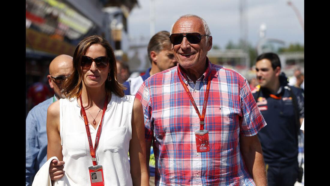 Dietrich Mateschitz - Red Bull - GP Spanien 2016 - Barcelona - Sonntag - 15.5.2016