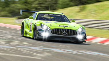 Digitale Langstrecken Serie Nürburgring - Schnitzelalm Mercedes - 2020