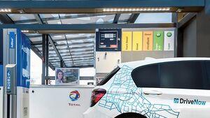 Digitale Tankkarte von TOTAL und DriveNow