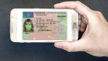 Digitaler Führerschein Smartphone
