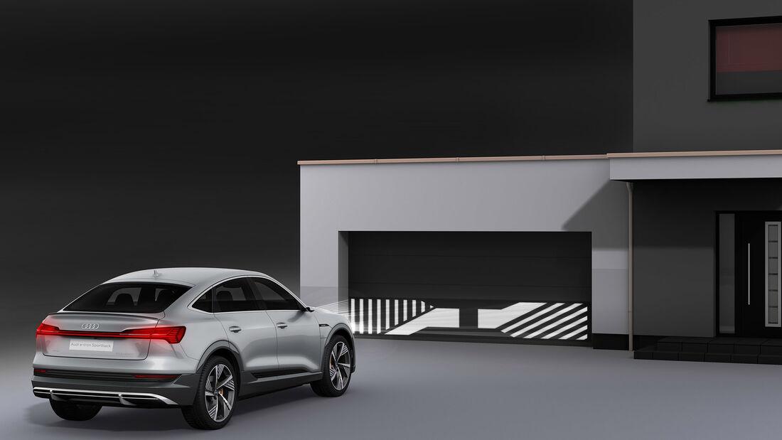 Digitaler Matrix LED-Scheinwerfer Audi E-tron Sportback