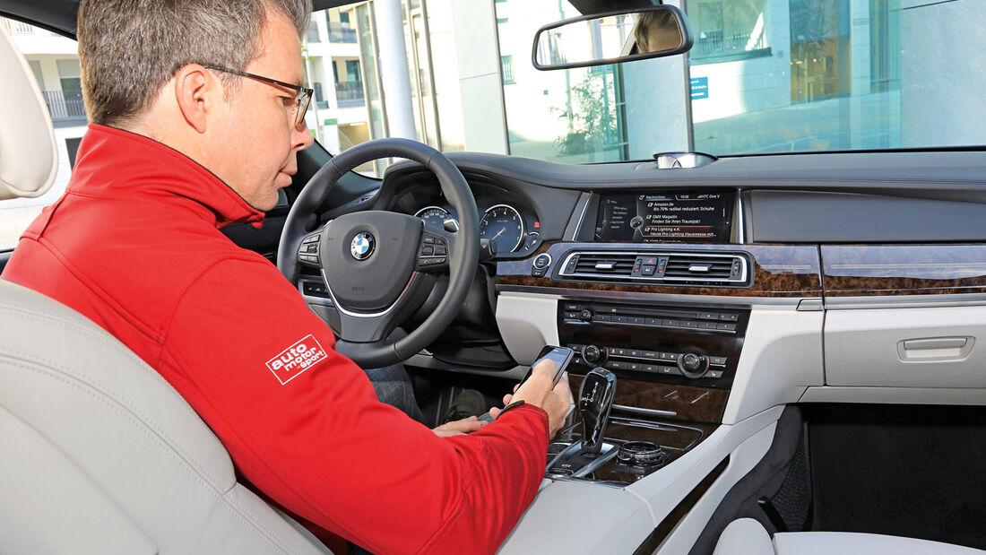 Diktierfunktion, BMW, Cockpit