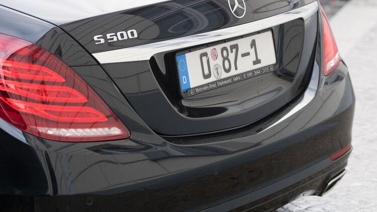 Diplomaten Autos 2018 über 21700 Verkehrsverstöße Usa