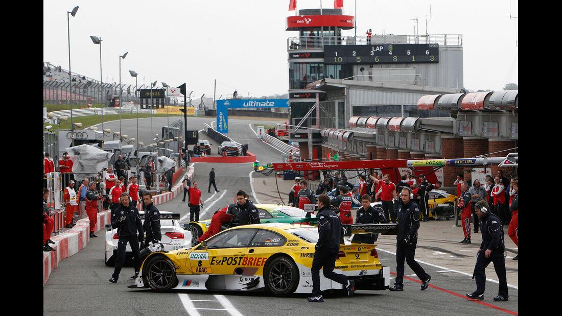 Dirk Werner BMW DTM Brands Hatch 2012