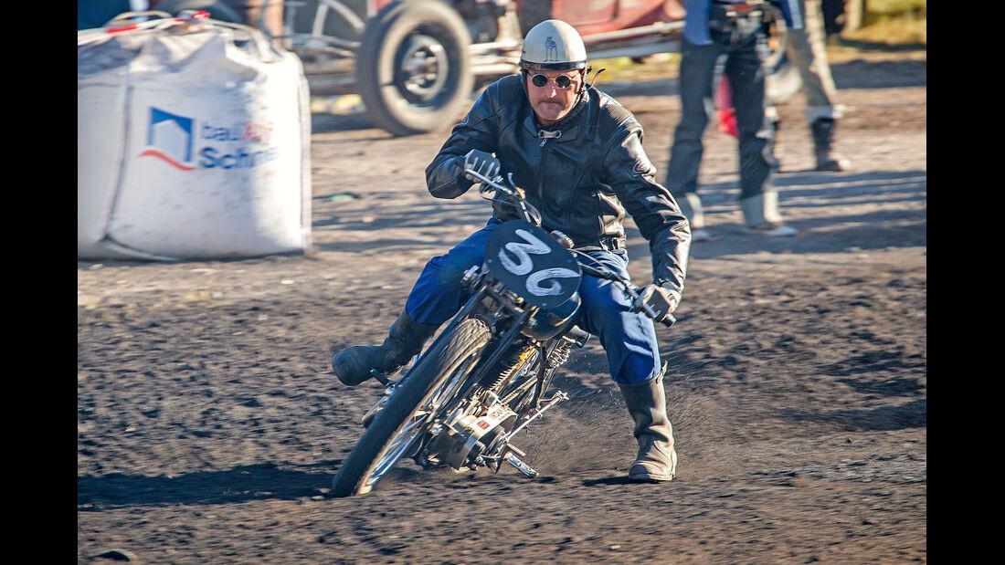 Dirt-Track-Szene, BSA, Drift