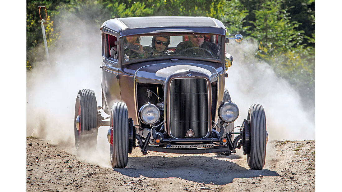 Dirt-Track-Szene, Ford A Coupé