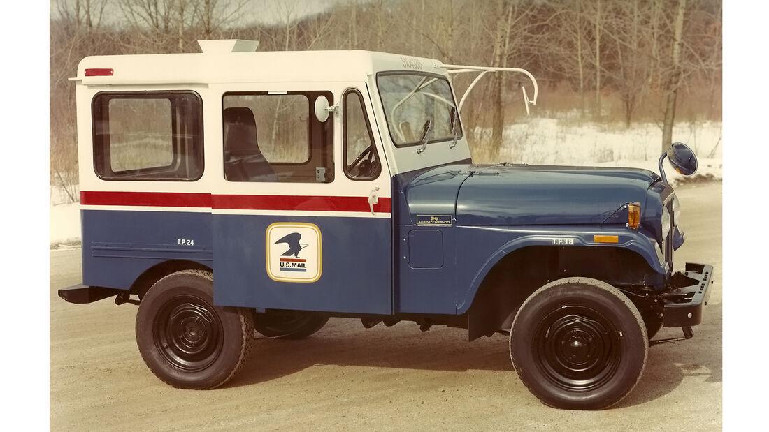 Dispatcher Jeep der US-Post