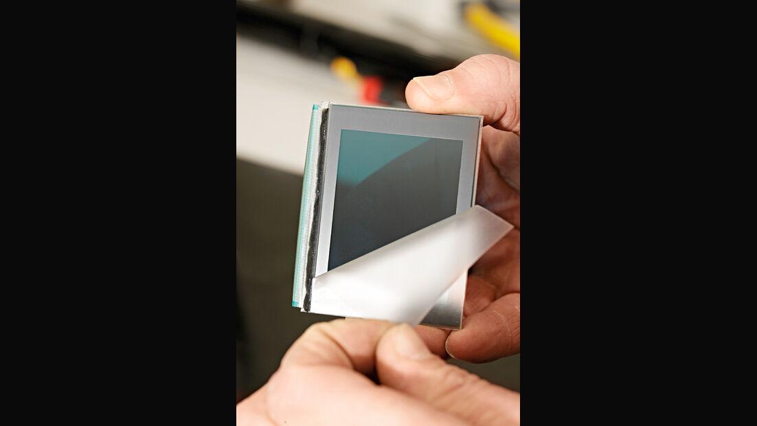 Display-Reparatur, Anzeigefläche
