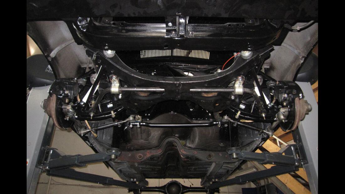 Dodge Challenger, Achsen