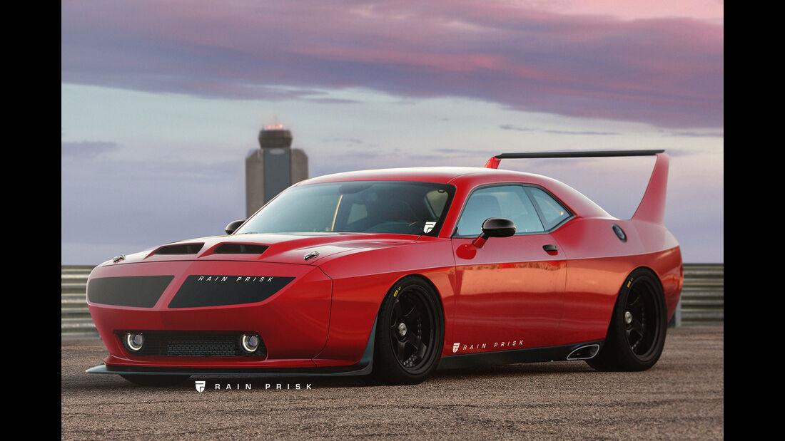 Dodge Challenger Daytona - Design-Konzept - Grafikkünstler Rain Prisk
