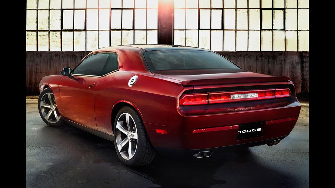 Dodge Challenger, Heckansicht