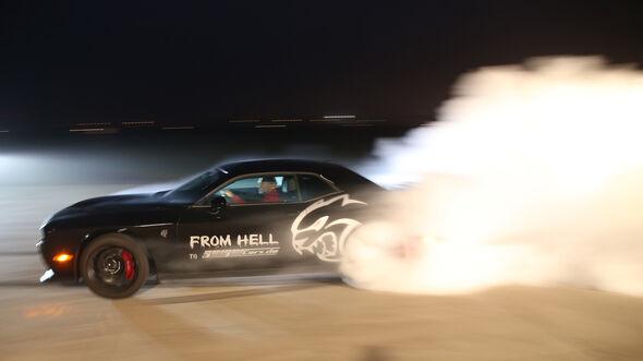 Dodge Challenger Hellcat, Seitenansicht