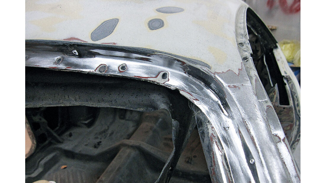 Dodge Challenger, Karosserie-Aufbau, Rostnester