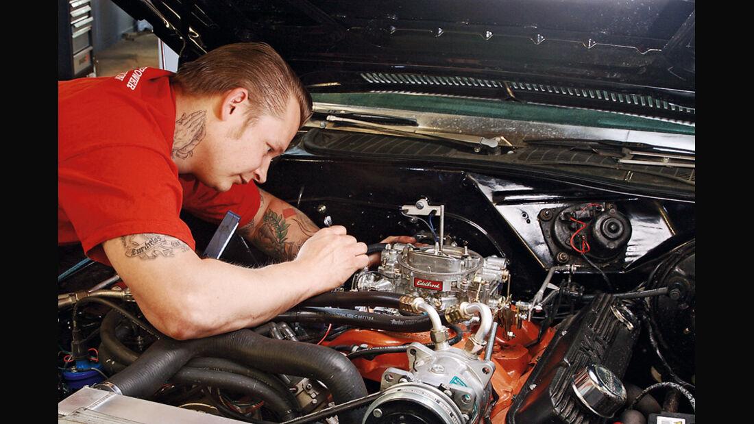 Dodge Challenger, Motor, Rouven Eidelloth