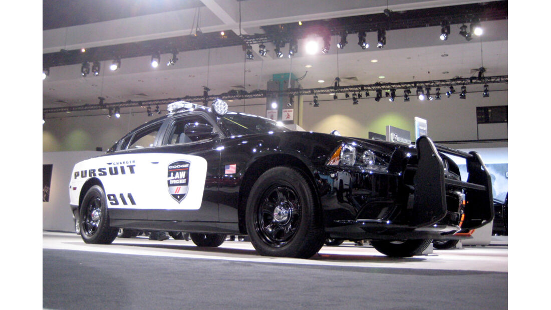 Dodge Challenger Police Car