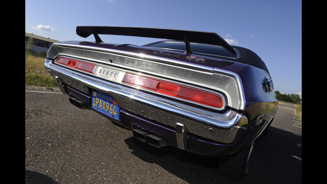 Dodge Challenger R/T 383, Baujahr 1970, Heck