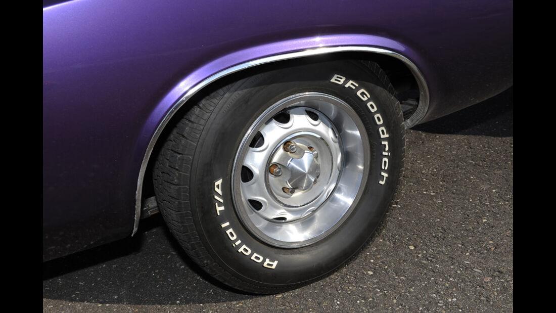Dodge Challenger R/T 383, Baujahr 1970, Rad