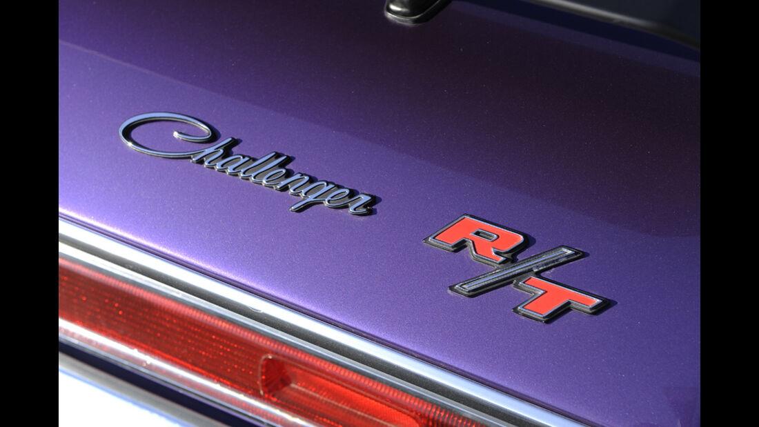 Dodge Challenger R/T 383, Baujahr 1970, Schriftzug